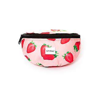 Spiral Strawberry Bum Bag
