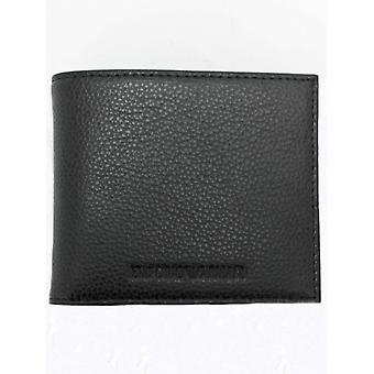Emporio Armani тиснением логотипа двойные карманы - черный