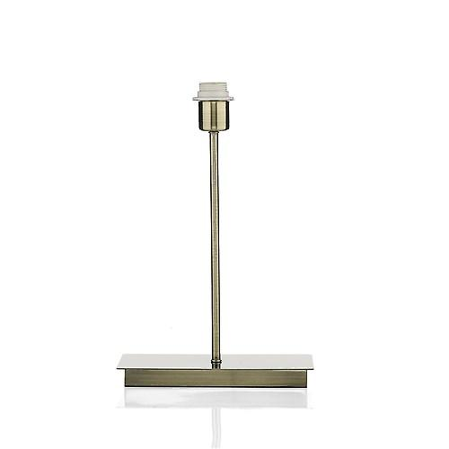 Dar PIZ4075 Piza Table Lamp In Antique Brass - Base Only