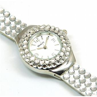Henley Glamour Crystal trekull fasett Glass Watch