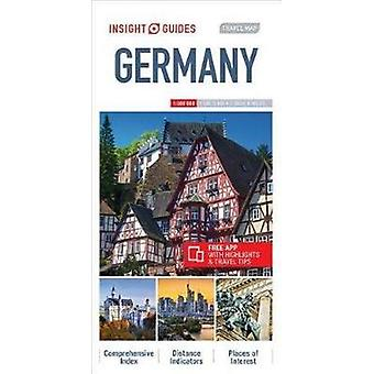 Insight Travel Map Germany - 9781786719089 Book