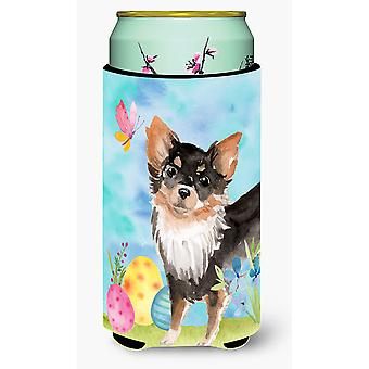 Long Haired Chihuahua Easter Tall Boy Beverage Insulator Hugger