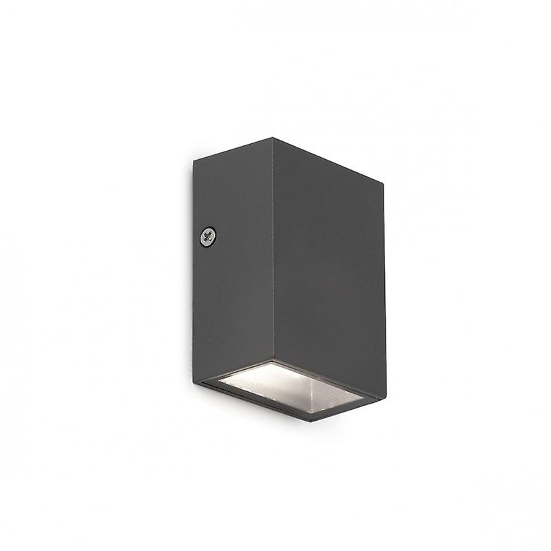 Canon Dark gris Wall Lamp Led 4w 3000k