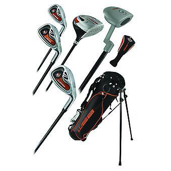 Gå Junior hög kvalitet barn 7 Piece Golf starter Kids paket set ålder 6-8