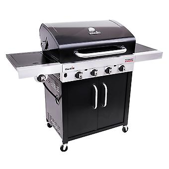 Char-Broil Performance 440 B Stainless Steel 4 Burner Gas BBQ in Black