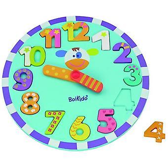 Boikido Puzzle zegar (dzieci i niemowląt, zabawki edukacyjne i kreatywne)
