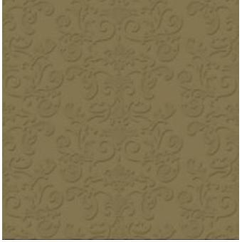 Coffee Napkins Gold Metal 2-pack 25x25 cm 20-pack