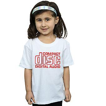 Compact Disc Girls Red Logo T-Shirt