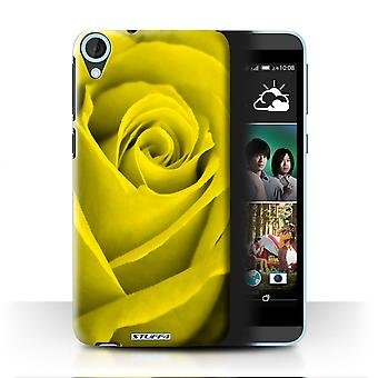 STUFF4 Case/Cover for HTC Desire 820s Dual/Yellow/Rose