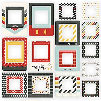 Say Cheese II Chipboard Frames 24/Pkg-  SAY4338