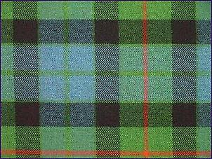 Gunn, Ancient - Pure Wool Tartan