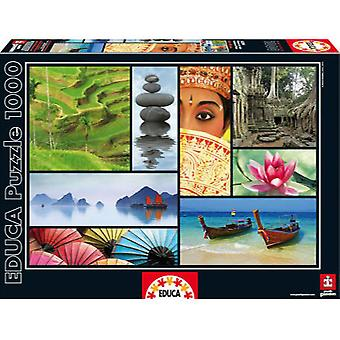 Educa Puzzle Asia Colors 1000 Pieces (Speelgoed , Bordspellen , Puzzels)