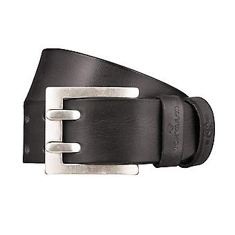 TOM TAILOR belt leather belts men's belts black 1234