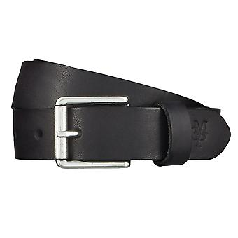 Marc O ´ Polo belts men's belts leather belt cowhide black 4558