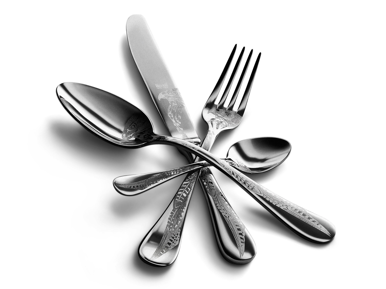 Mepra Caccia 4 pcs flatware set
