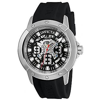 Invicta Automatic Stainless Silicone Casual