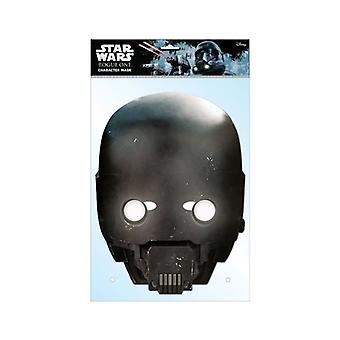 K-2SO Official Star Wars Rogue One Card Party Face Mask