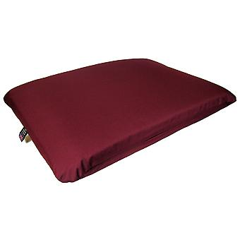 Country Dog Heavy Duty Deep Filled Waterproof Mattress Spare Cover Burgundy 114x83x19cm