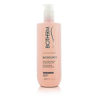 Biotherm Biosource 24H Hydrating & blødgøring Toner - For tør hud 400ml/13,52 oz