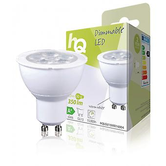 HQ LED Dimmable ampoule MR16 GU10 5,5 W 350 lm 2 700 K