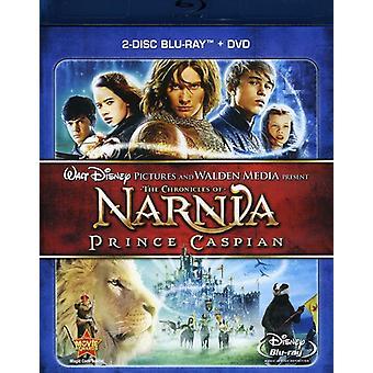 Las crónicas de Narnia: el Príncipe Caspian [2 discos] importación de Estados Unidos [Blu-ray/Dvd] [BLU-RAY]
