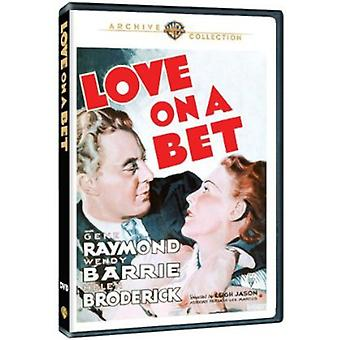 Love on a Bet [DVD] USA import