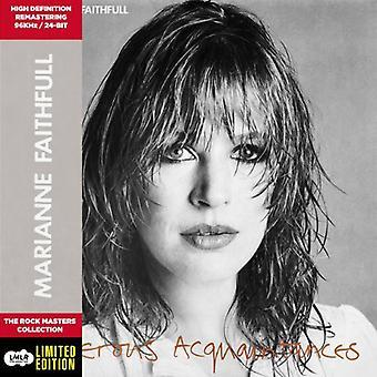 Marianne Faithfull - importación de Estados Unidos conocidos peligrosos [CD]