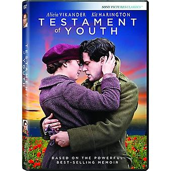 Testament of Youth [DVD] USA import