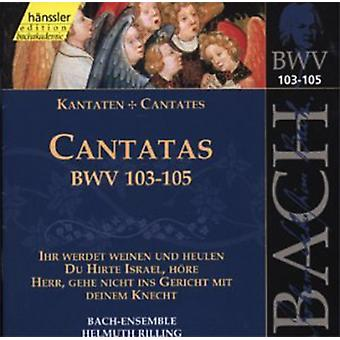 J.S. Bach - Bach: Cantatas, Bwv 103-105 [CD] USA import