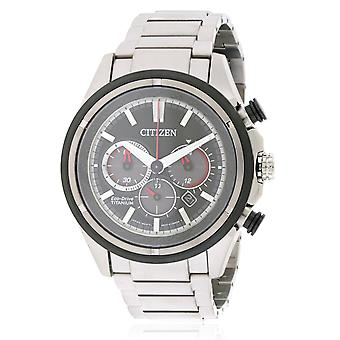 Citizen Eco-Drive Ti + IP Mens Watch CA4240-82E