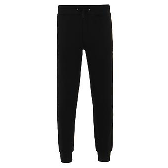 Weekend Offender Stone Black Jersey Tracksuit Bottoms