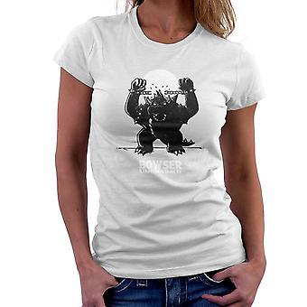 Bowser Unchained Super Mario Bros kvinder T-Shirt