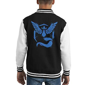 Pokemon Team Mystic Kid's Varsity Jacket