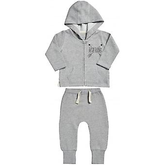 Spoilt Rotten Live Loud Baby Hoodie & Joggers Baby Outfit Set