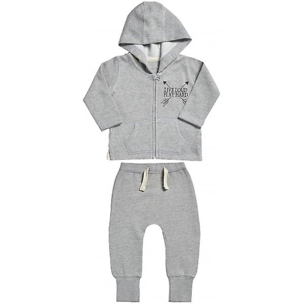 Spoilt rougeten Live Loud Baby Hoodie & Joggers Baby Outfit Set