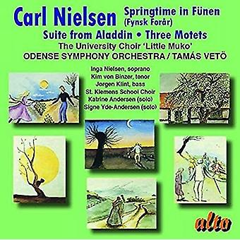 University Choir 'Little Muko' Odense S - Nielsen: Springtime in F?Nen; Suite From [CD] USA import