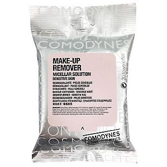 Comodynes Micellar Cleanser Wipes 20 (Cosmetics , Facial , Facial cleansers)