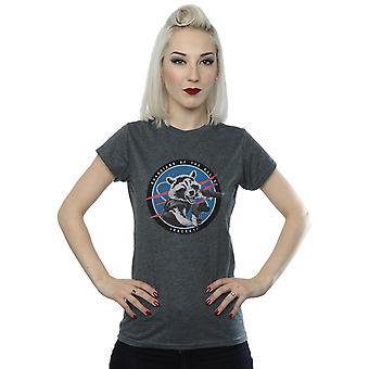 Sie Dziwisz że Women's Strażnicy Galaktyki rakieta godło T-Shirt