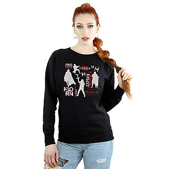 Star Wars Women's The Last Jedi First Order Silhouettes Sweatshirt