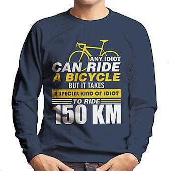 Idiots Ride Bikes Men's Sweatshirt