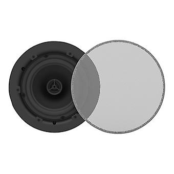 VISION PAIR OF WHITE WALL LOUDSPEAKERS-50w (rms) each, Low-impedance, 3-way with bass reflex, 5.25
