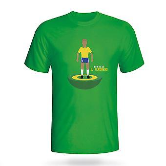 Ronaldo Brasil Subbuteo Tee (grønn)
