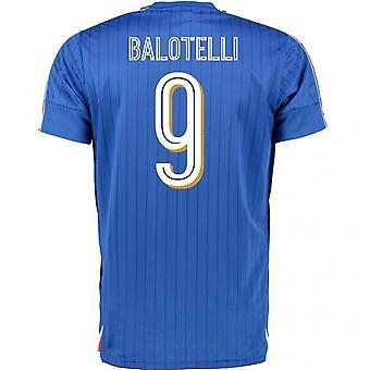 2016-2017 Italy Puma Home Shirt (Balotelli 9)