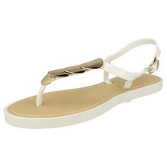 Damer Savannah sandaler Post / Metal Trim