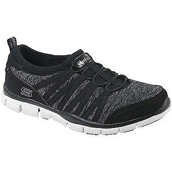Skechers Gratis 22602BKW universal all year women shoes