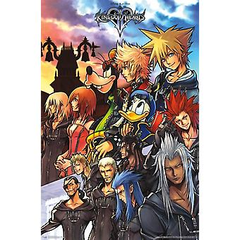 Kingdom Hearts - Group Poster Print