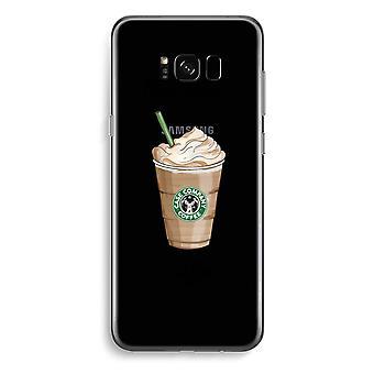 Samsung Galaxy S8 pluss gjennomsiktig sak (myk) - men første kaffe