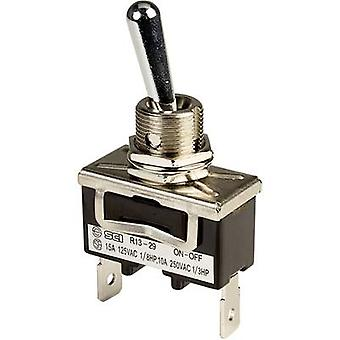 Toggle switch 250 V AC 10 A 1 x Off/On SCI R13-29A