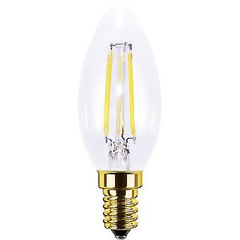 Segula LED E14 Candle 3.5 W = 20 W Warm white (Ø x L) 35 mm x 98 mm EEC: A+ Filament, dimmable 1 pc(s)