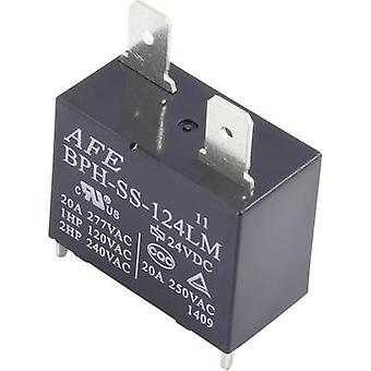 PCB relays 24 Vdc 20 A 1 maker AFE BPH-SS-124LM